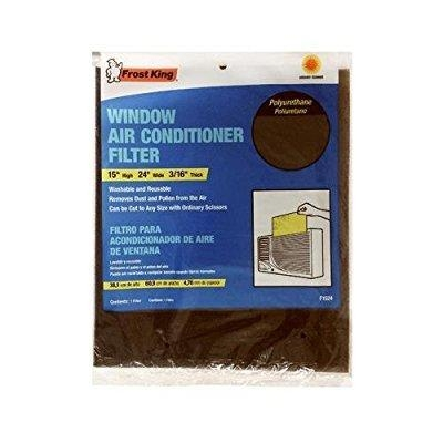 China Thermwell Products F1524 Window Air Conditioner Filter, 15x24x.25-In.