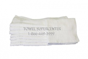 China 20X40-Premium White Bath towels 86/14 poly cotton blend on sale