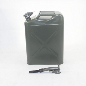 China Fuel Tank steel jerry can 20L Army Green on sale