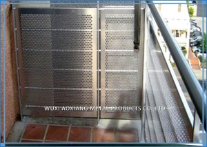 China 304 Perforated Stainless Steel Sheet / Stainless Steel Perforated Plate 2B Finish on sale
