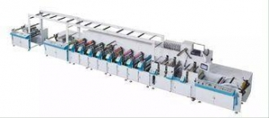 China Narrow Web Flexo Printing Machine 1 - 15 Colors 152m/min For Paper Cup on sale