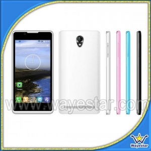China Cheapest smart phone Android 4.4 dual core 3g mobile phone P9 on sale