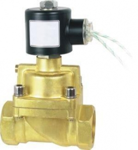 China 12V 24V DC Electric Brass Solenoid Valve Water Gas Air Normally Closed 24 VOLT DC on sale