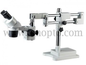 China S022-234 Double Arm Boom Stand Stereo Microscope S022-234 Double Arm Boom Stand Stereo Microscope on sale