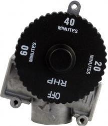 China Gas Accessories Automatic Timer Shut-Off Valve - 1 Hour on sale