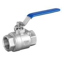China 2PC Ball Valve stainless steel CF8,CF8M price list screw thread BSP/PT/NPT manufacture on sale