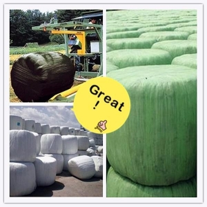 China Black Farming Silage Stretch Film on sale