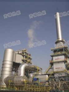 China Incinerator Waste gas & liquid thermal oxidizer with waste heat recovery system on sale