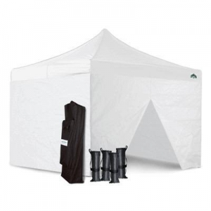 China Craft Show 10x10 Canopy Package Deal + 4 Sidewalls & Weight Bags on sale