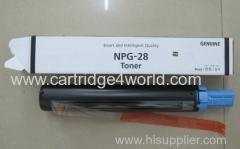 China Low price high quality Canon NPG 28 Genuine Original Laser Toner Cartridge on sale