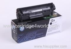 China HP 12A Genuine Original HP 2612a Laser Toner Cartridge on sale