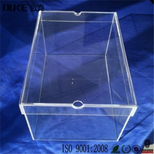 China Jump Man Clear Acrylic Shoe Storage Boxes with Cheap Price on sale