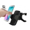 China Electric Wireless Phone Charger Car Mount For Samsung Galaxy S7 S6 Note5 for sale