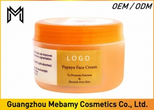 China Skin Whitening Face Cream Womens Face Creams Papaya Extract Reduces Dark Spots on sale