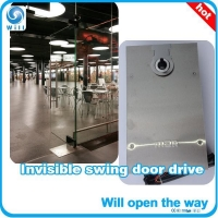 China Floor concealed swing door operator on sale