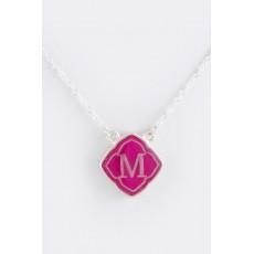 China Necklace INITIAL M PENDANT NECKLACE NO.:N005831 on sale