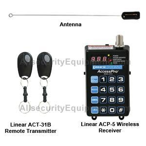 China Linear AP-5 500' Wireless Access Control 318 MHz Kit on sale