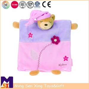 China Baby Comforter Personalized Baby Bear Blankets on sale