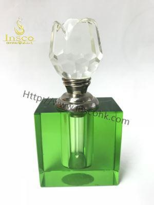 China Original Crystal Bottle with Green