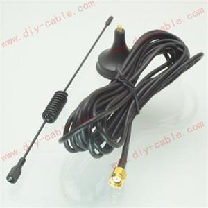 China GPRS GSM 3G USB MODEM UMTS HUAWEI CDMA RP-SMA jack 3dBi 3M antenna Magnetic base on sale