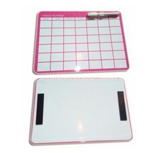 China Custom White Magnetic Dry Erase Memory Board on sale
