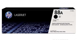China HP Black Toners HP CC388A (HP 88A) Genuine Black Toner Cartridge supplier