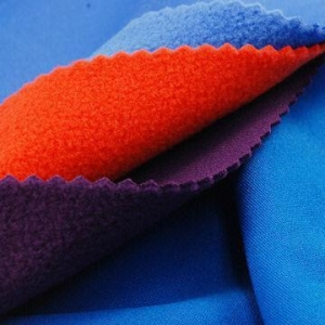 China 4-way Stretch Pique Fleece Fabric, Made of 100% Poly, with Anti-pilling and Anti-static on sale