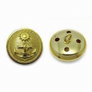 China Metal Buttons Military Buttons Manufacturer on sale