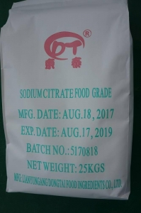 China food garde sodium citrate supplier