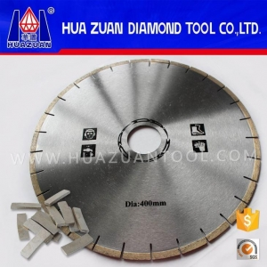 China 400mm Rolling Diamond Marble Cutting Saw Blade Discs on sale