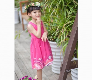 China 2015 new arrival back openwork lace baby girls dress shijcc101 on sale