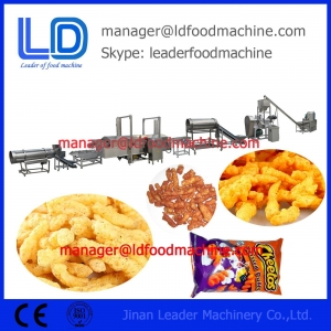 China Fried Corn Curl Kurkure Cheetos Snack Food Making Machine, Snacks Food Processing Line on sale