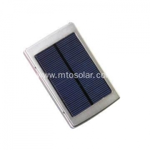 China cheap portable solar photovoltaic battery charger with torch/flashlight on sale