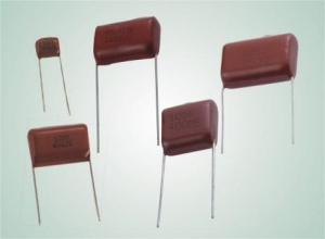 China Capacitors Metallized Polyester Film Capacitor on sale