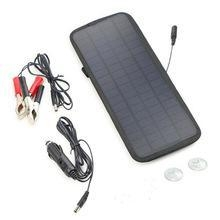 China 12V 4.5W Portable Power Solar Panel Battery Charger on sale