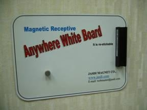 China Applications of Magnets Flexible Magnetic Receptive White Boards on sale