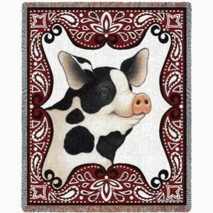 China Indian Blankets Bandana Pig Blanket on sale