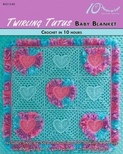 China CROCHET PATTERNS TWIRLING TUTUS Baby Blanket on sale