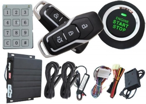 China Passwords Security Rfid Car security System , Auto Window Up Remote Anti Theft Alarm System For Cars on sale
