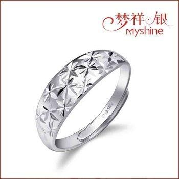 China Myshine jewellery latest designs of silver rings 925 italian silver ring