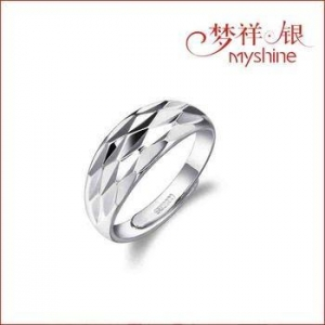 China Myshine silver rings for couples silver jewellery online sterling silver ring wholesale