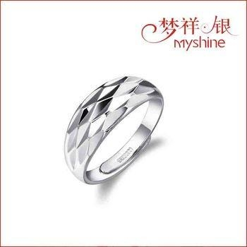 China Myshine silver rings for couples silver jewellery online sterling silver ring