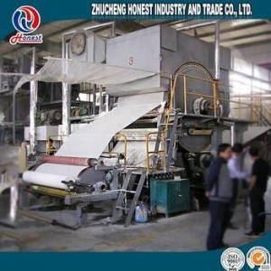 China CE certificate recycled toilet tissue paper machine on sale