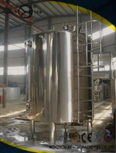 China High Quality Sanitary Stainless Steel Water Storage Tank with Insulation System on sale