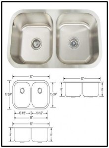 China Perfec stoone drop in stainless steel sink prices on sale