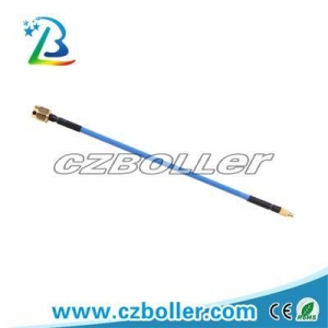China RF Connector RG405 RF Flexible Cable with RP-SMA Male to MMCX Male Connector on sale
