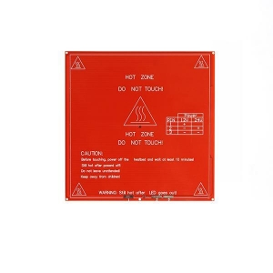 China PCB R1 heated bed 214x214x1.6(12/24V dual power) on sale