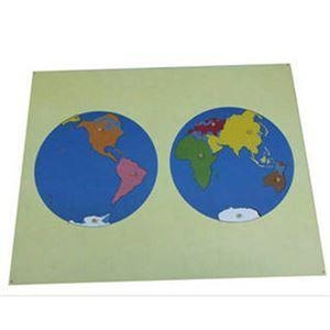 China Puzzle Map Of The World Parts (Asia) on sale