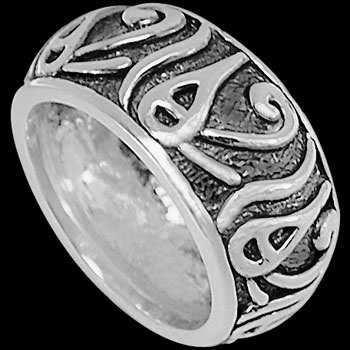 China Mens Jewelry - .925 Sterling Silver Rings CR670
