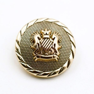 China metal military button on sale
